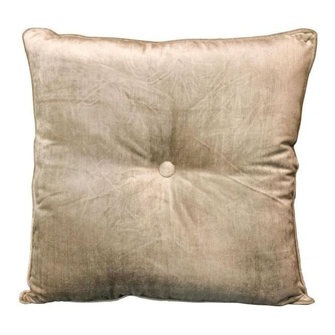 Square Cushion Silver Velvet