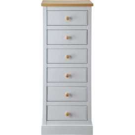 St. Ives Shabby Chic Tallboy Chest