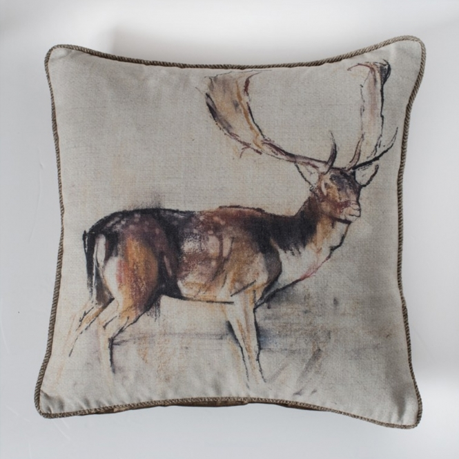 Stag Studies Natural Cushion