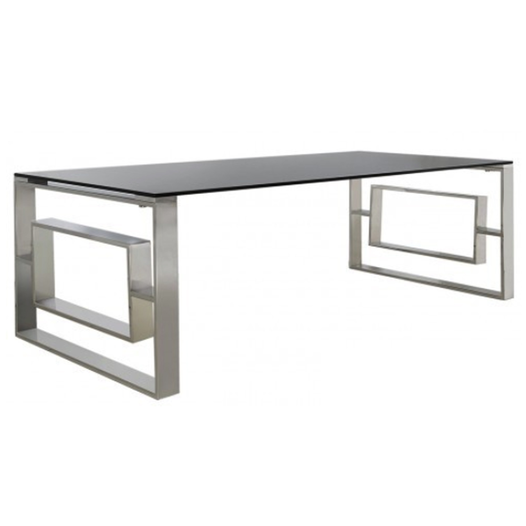 Stainless Steel Smoked Glass Coffee Table Glass Coffee Tables