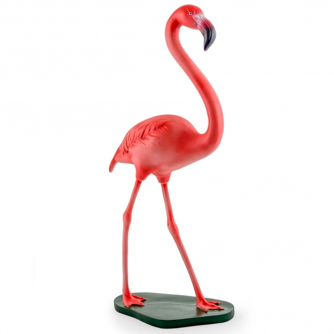 Standing Pink Flamingo Ornament