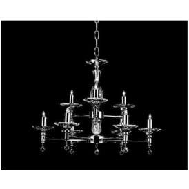 Starlite Nickel Pendant Light