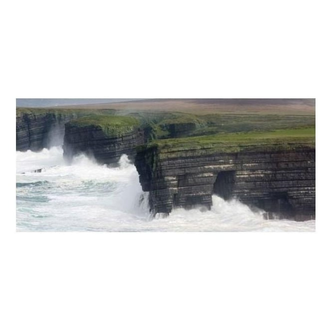 Stormy Cliffs Canvas Art