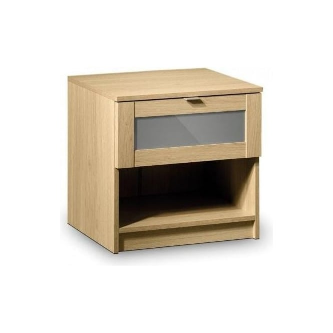 Strada 1 Drawer Bedside