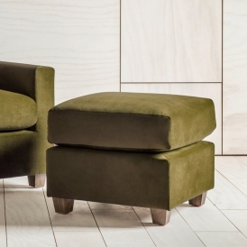 Stratford Footstool in Brussels Olive