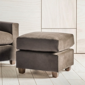 Stratford Footstool in Brussels Taupe
