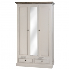 Studley Shabby Chic 2 Door Wardrobe