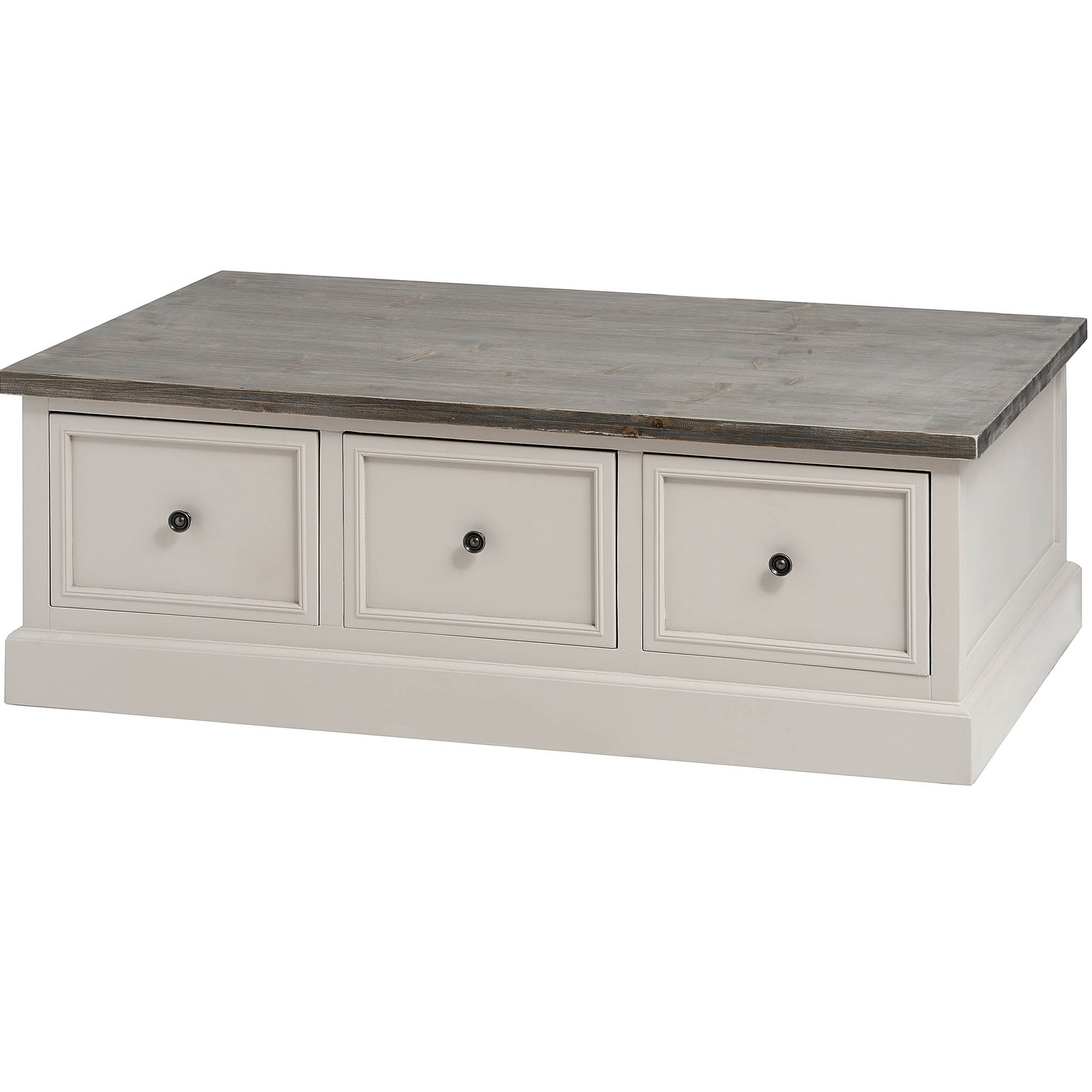 Studley Shabby Chic 6 Drawer Coffee Table Table Homesdirect365