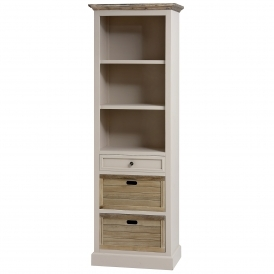 Studley Shabby Chic Tall Bookcase