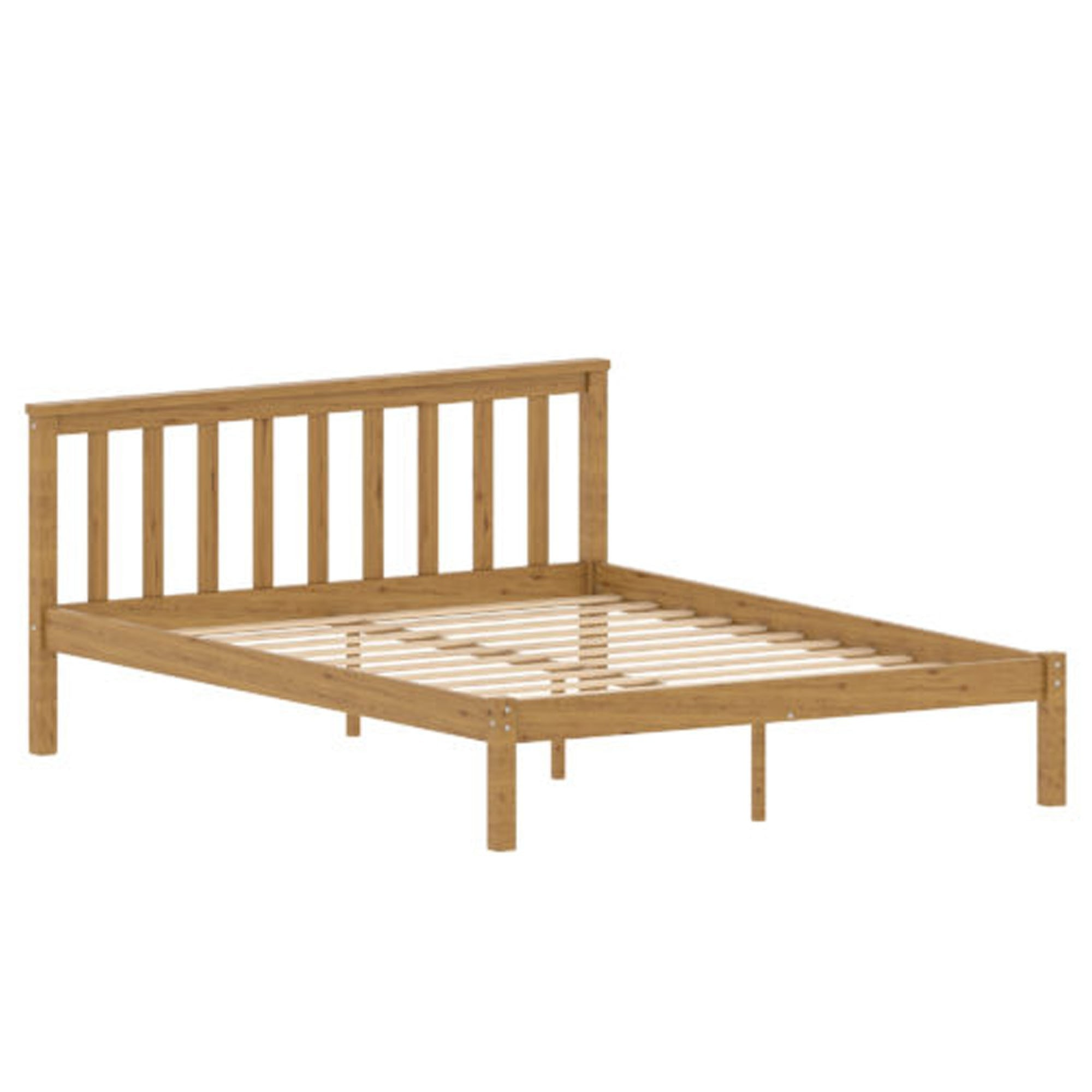 Sydney Pine King Size Wooden Bed Wooden Modern Beds