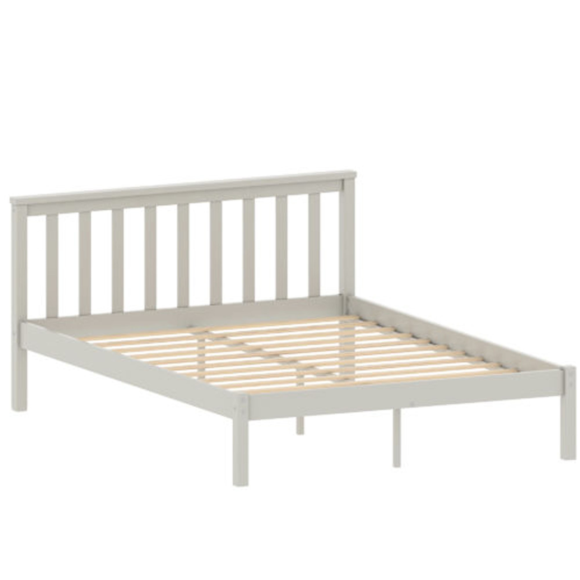 Picture of: Sydney White Wooden Double Bed White Wooden Bed Modern Beds