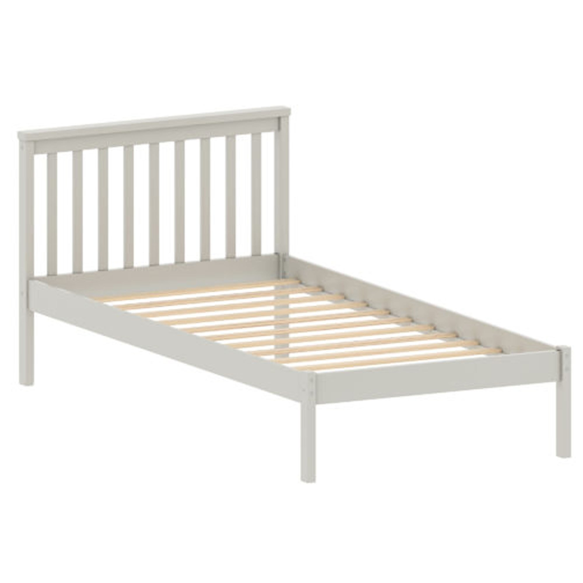 Picture of: Sydney White Wooden Single Bed White Wooden Bed Modern Beds