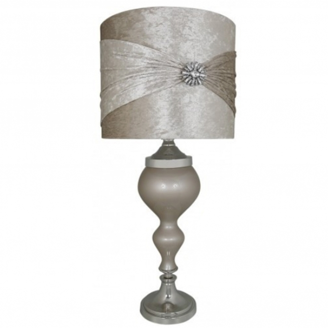 Taupe Antique French Style Table Lamp