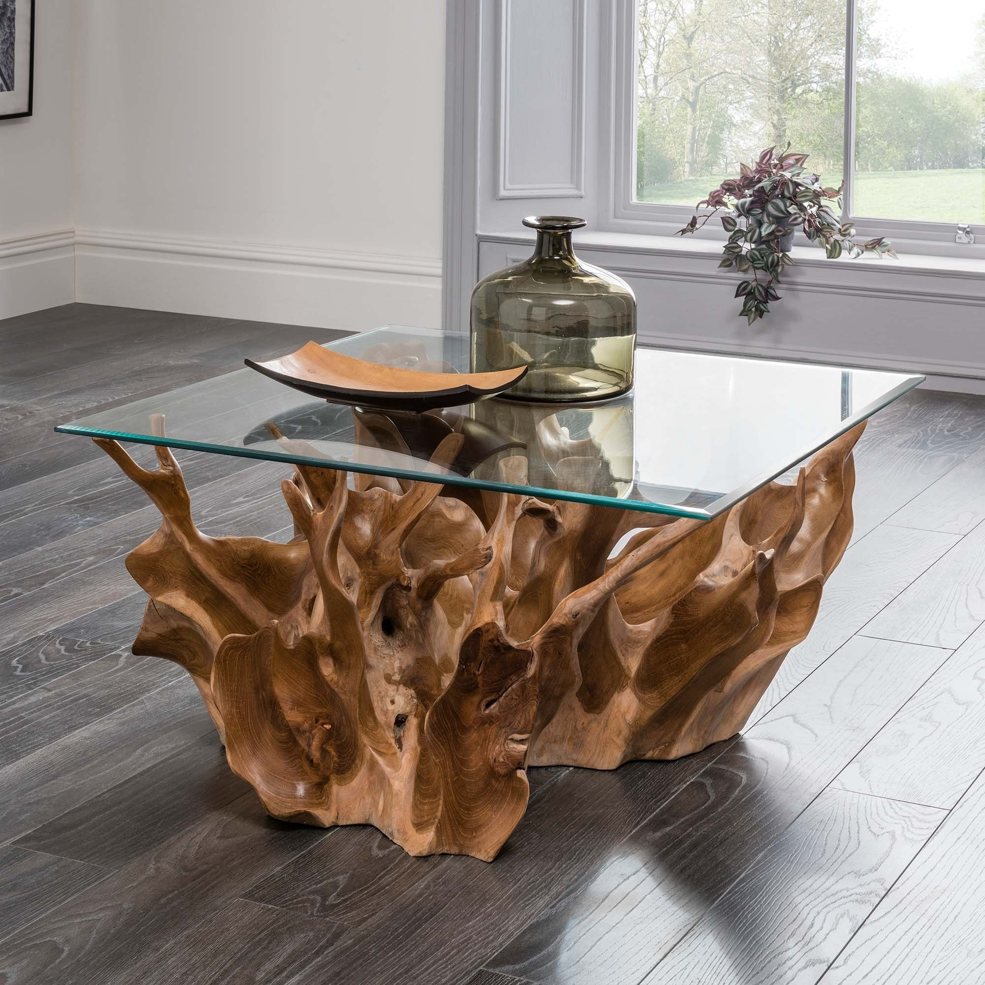 Teak Root Coffee Table | Beautiful Range of Driftwood and ...
