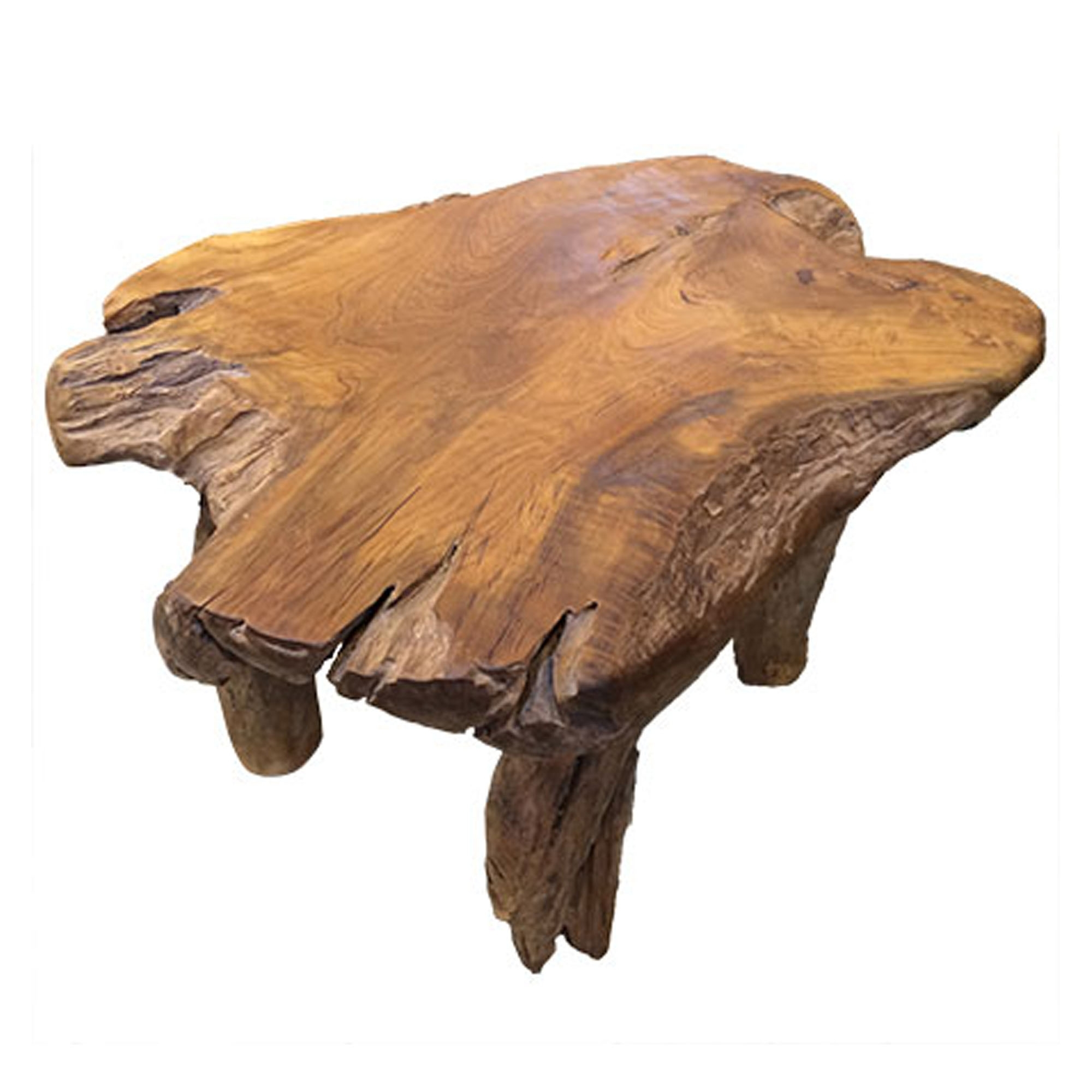 Teak Root Coffee Table Rustic Contemporary Furniture