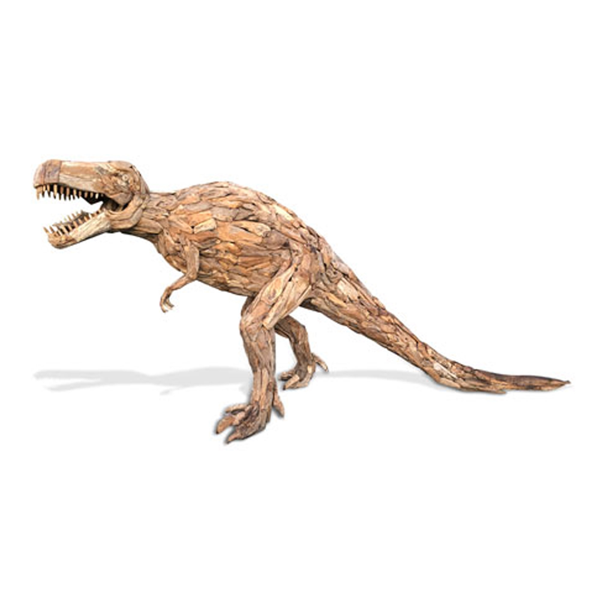 Teak Root Large T Rex Dinosaur Sculpture Modern Sculptures