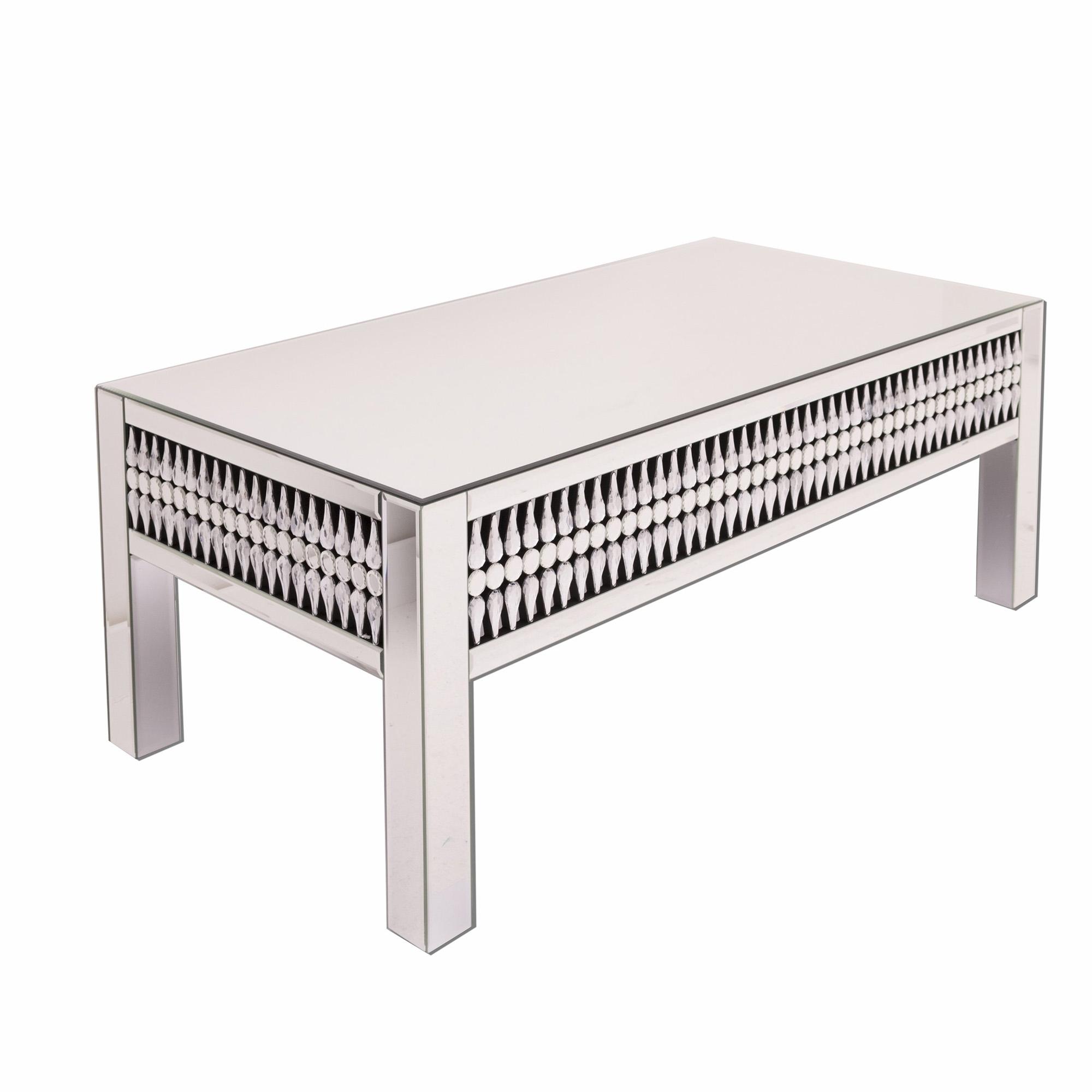 Astonishing Teardrop Mirrored Coffee Table Dailytribune Chair Design For Home Dailytribuneorg