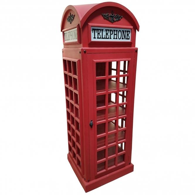Telephone Box Display Cabinet