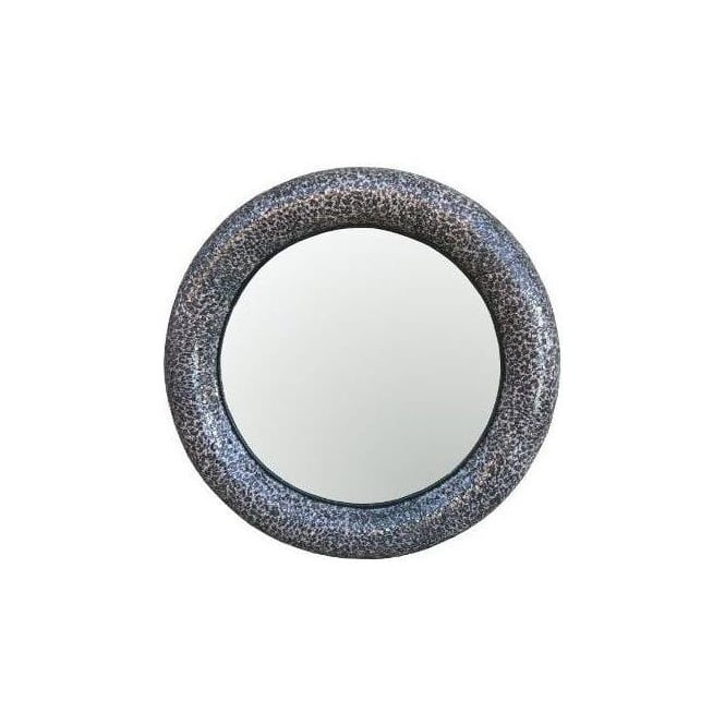 Tempered-Glass Mosaic Mirror