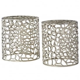 Templar Set Of 2 Stools