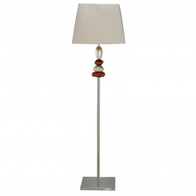 Terracotta Pebble Floor Lamp