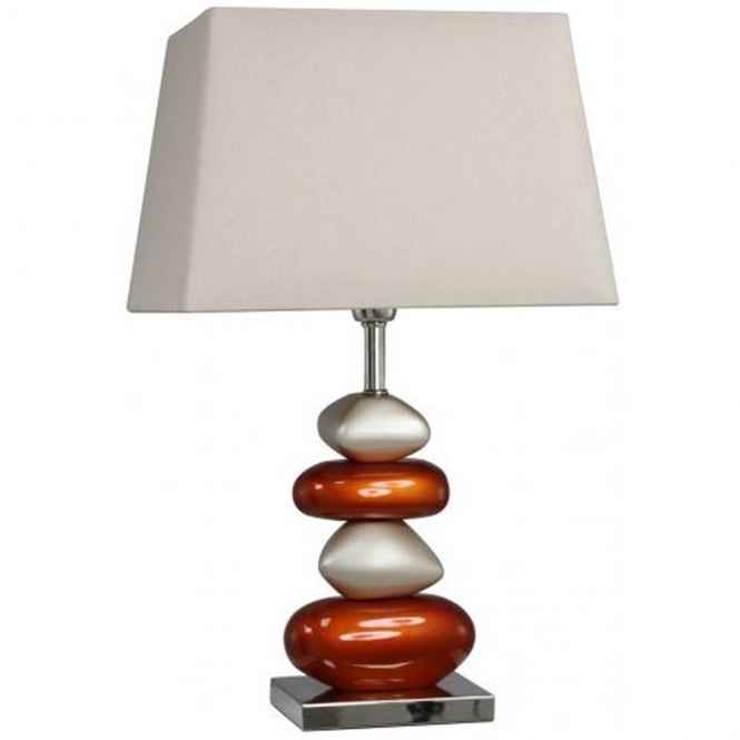 Terracotta Pebble Table Lamp
