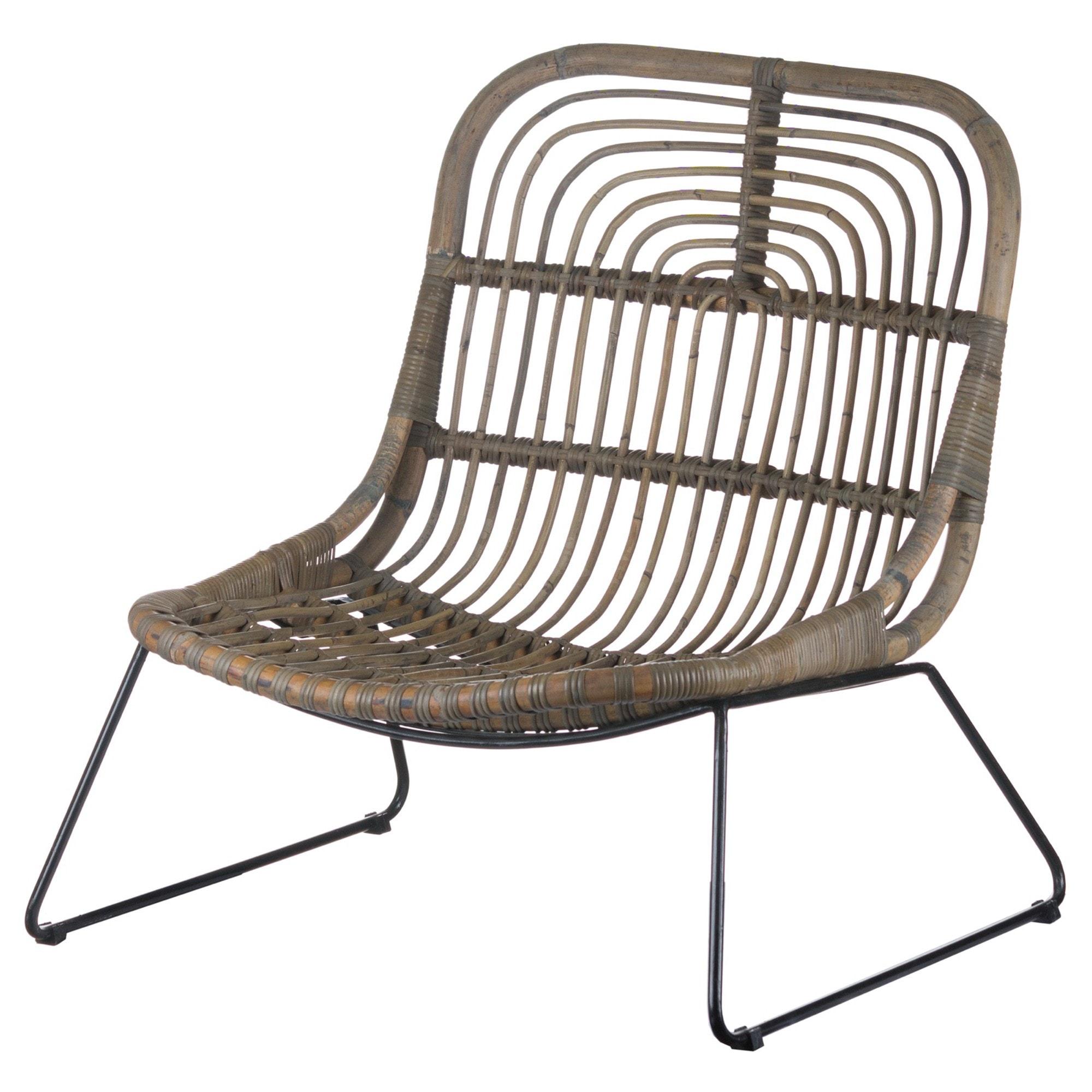The Bali Collection Full Rattan Pod Chair   Modern ...