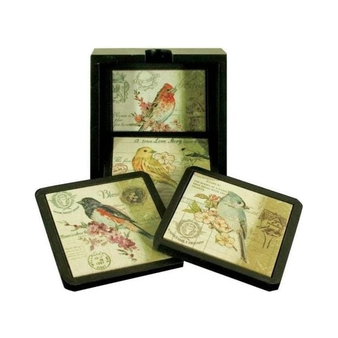 The Birds 4 Coaster Set