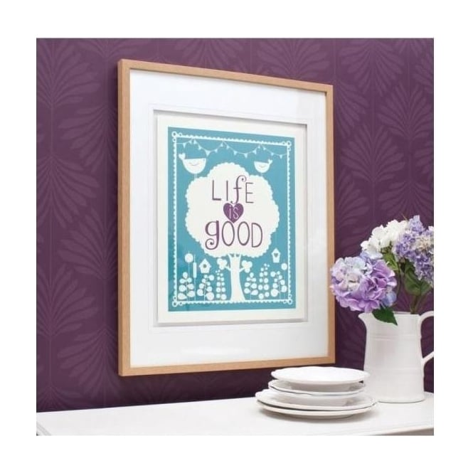 The Good Life Framed Art