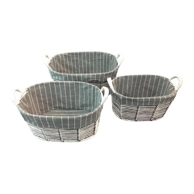 The Stripe Basket Set