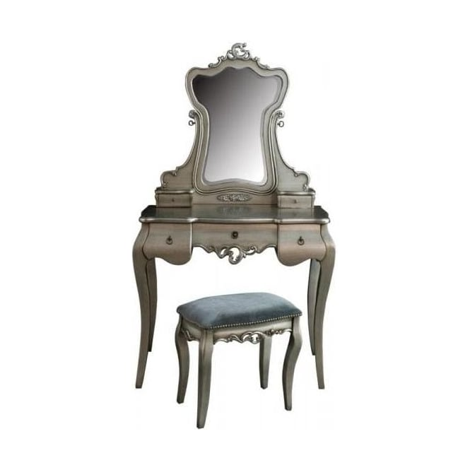 Tiffany Antique French Style Dressing Table Set