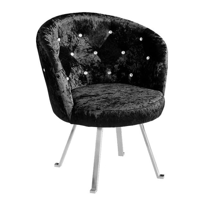 Tiffany Leisure Crushed Velvet Chair