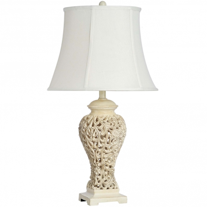 Toucan Antique French Style Table Lamp