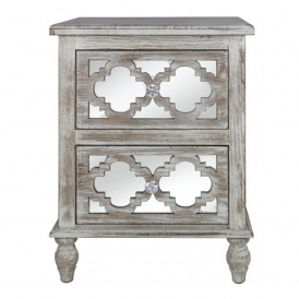 Toulon Antique French Style Bedside Table