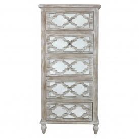 Toulon Antique French Style Chest Of Drawers