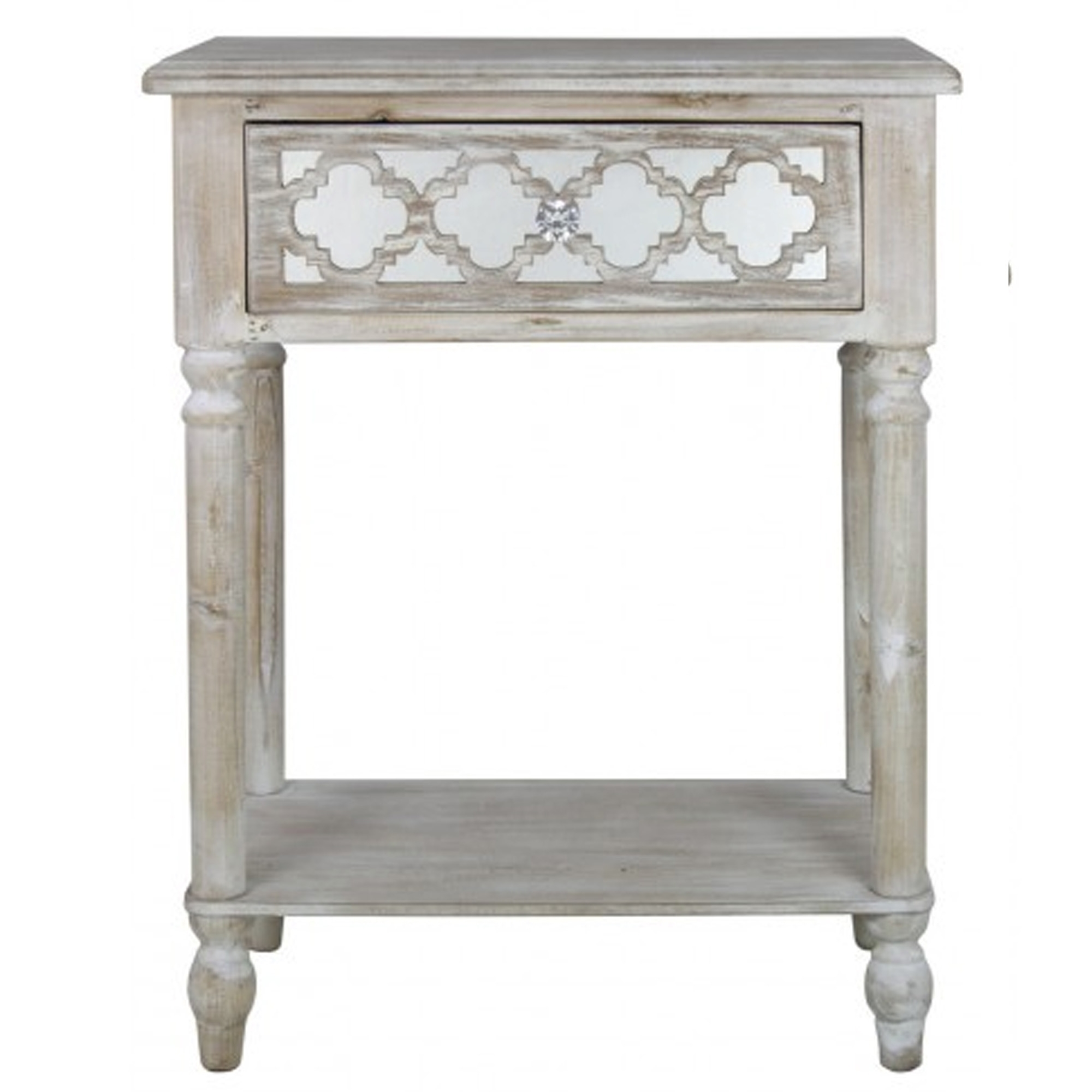 Toulon Antique French Style End Table