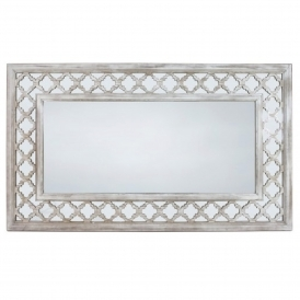 Toulon Antique French Style Large Wall Mirror