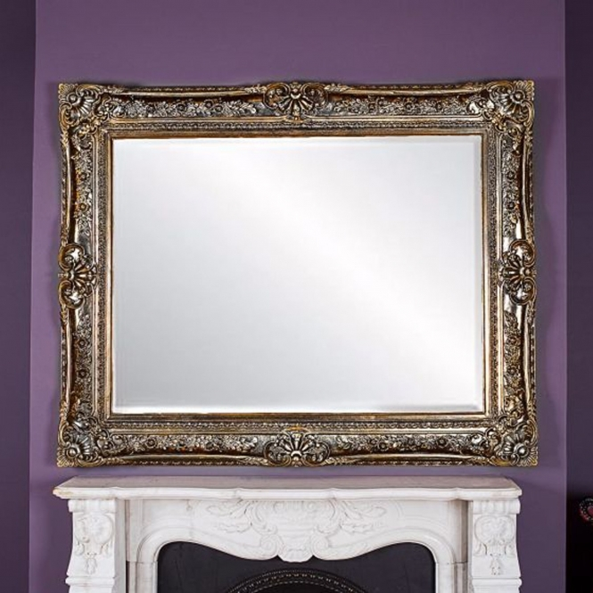 Toulouse Antique French Style Mirror Gold Mirror