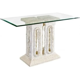 Tower Mactan Stone Console Table