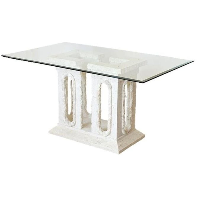 Tower Mactan Stone Dining Table