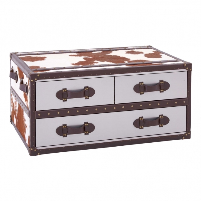 Townhouse 3 Drawer Coffee Table