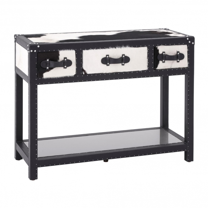 Townhouse 3 Drawer Console Table