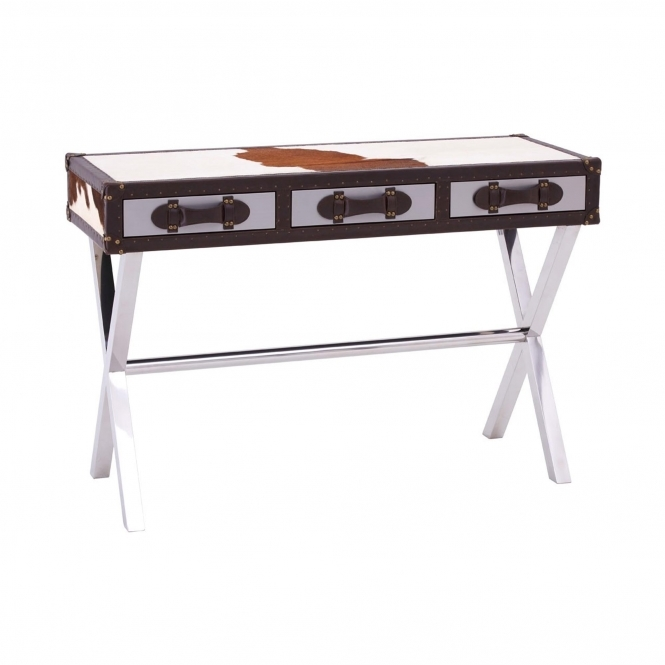 Townhouse 3 Drawer Slim Console Table