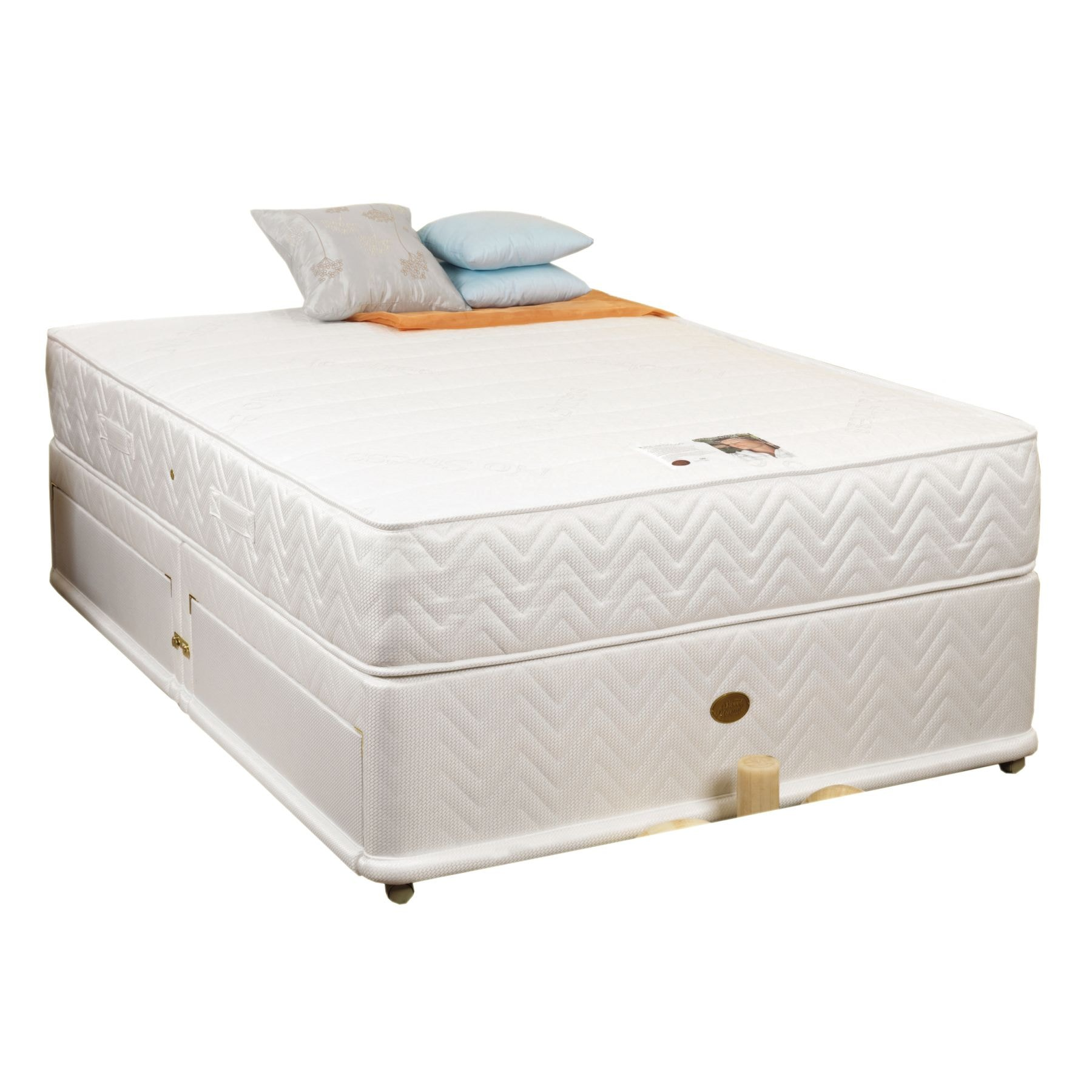 Tranquility 1200 divan base mattress for Divan bed base sale