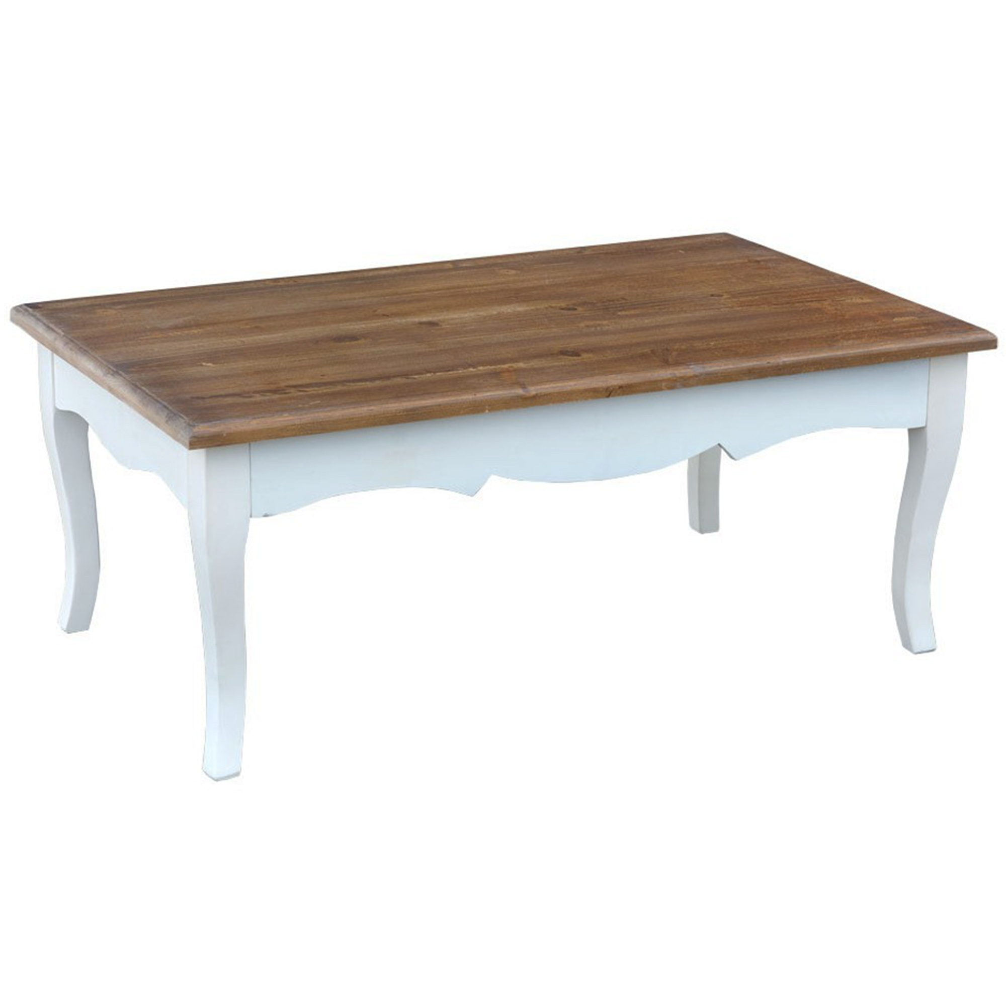 Shabby Chic Corner Coffee Table: Transylvania Shabby Chic Coffee Table