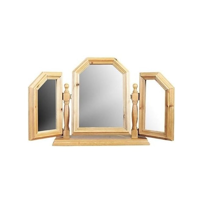 Triple Swing Mirror