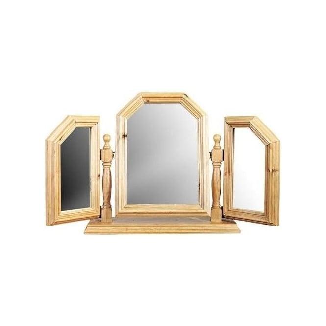 Triple Swing Mirror