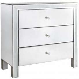 Turin Mirrored Chest of Drawers