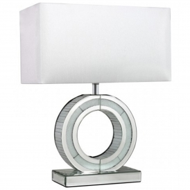 Turin Mirrored 'O' Lamp