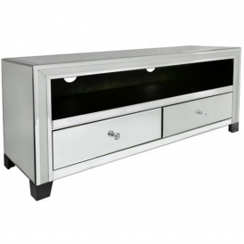 Turin Mirrored TV Cabinet